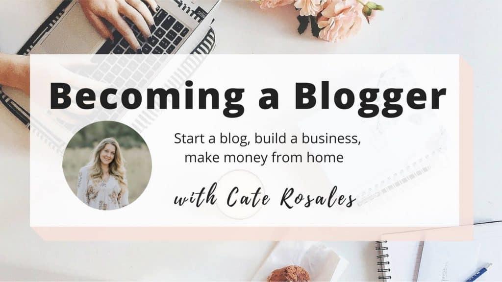becoming a blogger facebook group