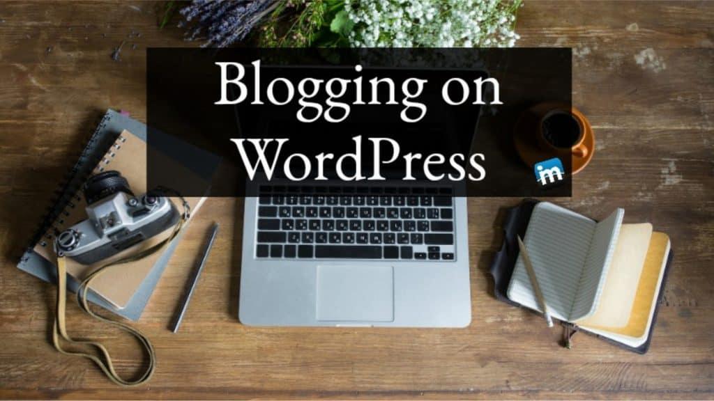 blogging on wordpress facebook group