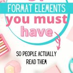 blog post format elements you must have