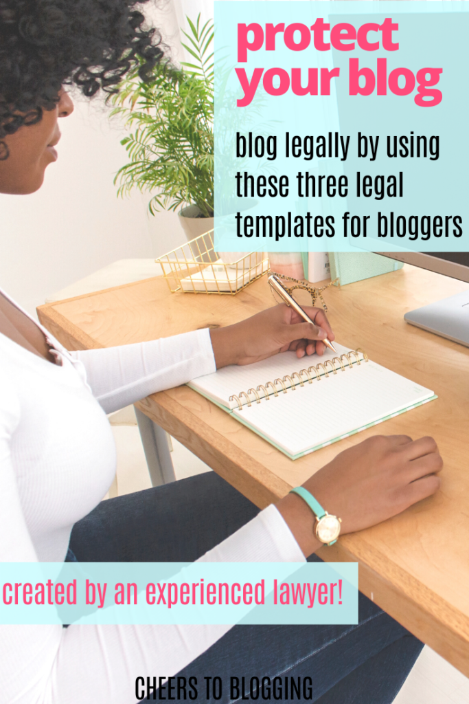 Legally protect your blog with these legal templates