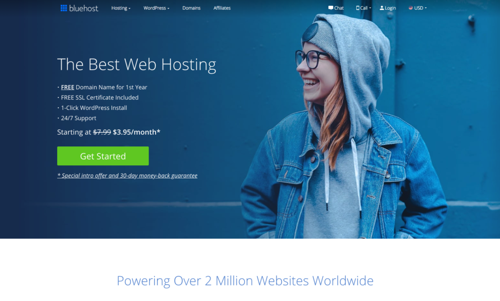 How to Start a WordPress Blog on Bluehost intro image