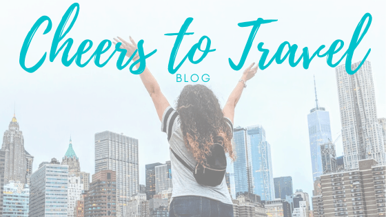 cheers to travel blog banner
