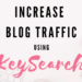 increase blog traffic using keysearch banner