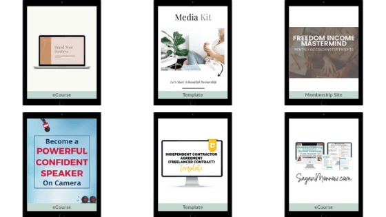 personal development resources from work at home bundle