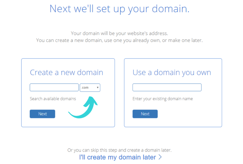 setup your domain bluehost (1)