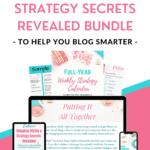 blogging tips and secrets for beginner bloggers to blog smarter ebms bundle