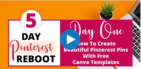 5 day pinterest reboot video course