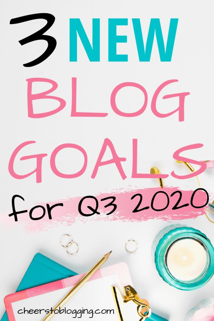 beginner blog goals for 2020