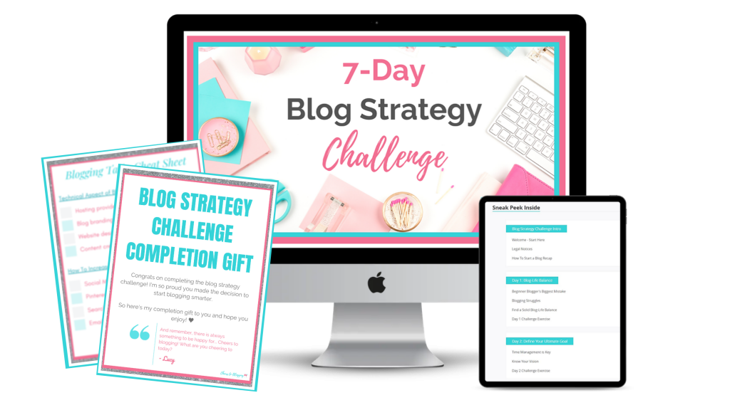 blog strategy challenge sneak peek inside