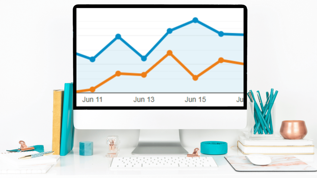 blog traffic increase visual