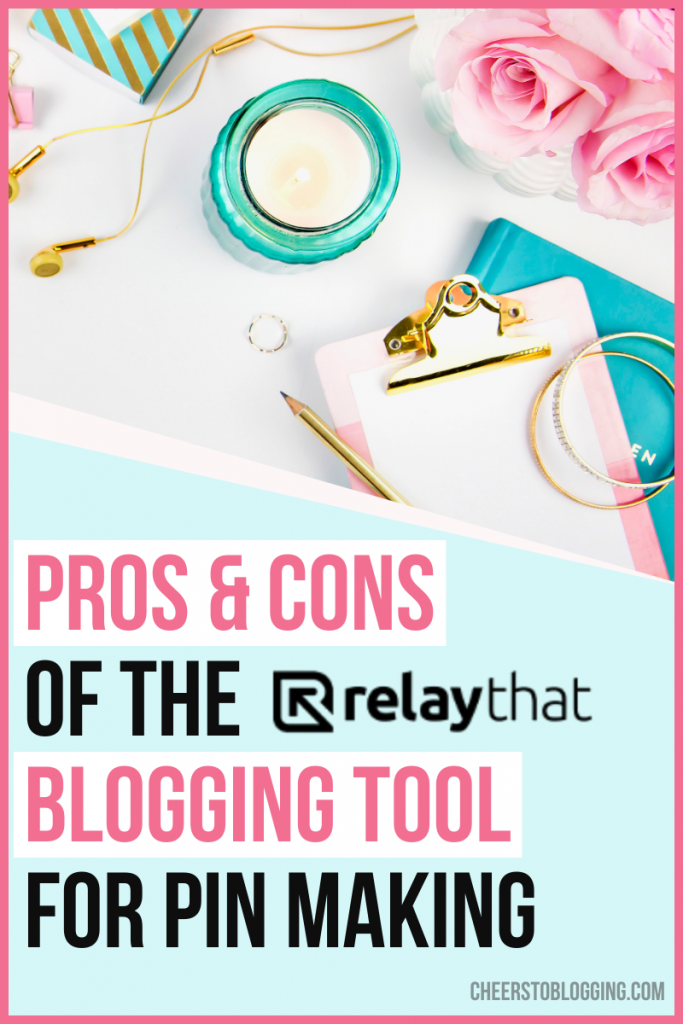 pros and cons to design graphic tool relaythat
