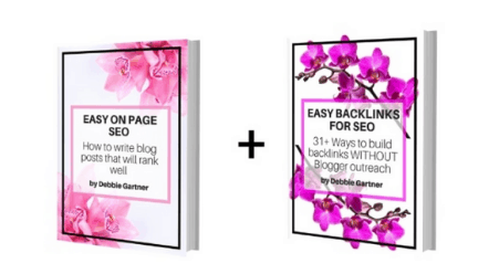 SEO ebook bundle as a blogger gift idea