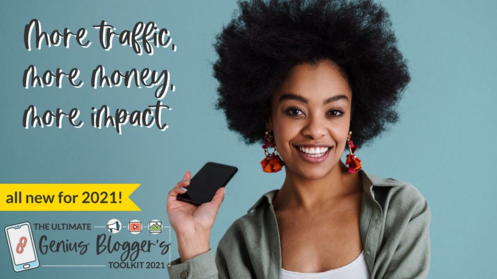 more traffic more money more impact with the genius bloggers toolkit