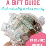 how to create a gift guide that actually makes money