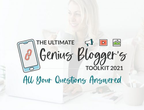 all your genius bloggers toolkit questions answered
