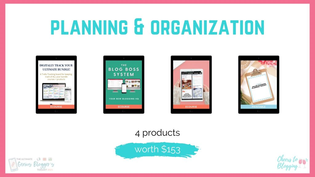 gbtk planning and organization products