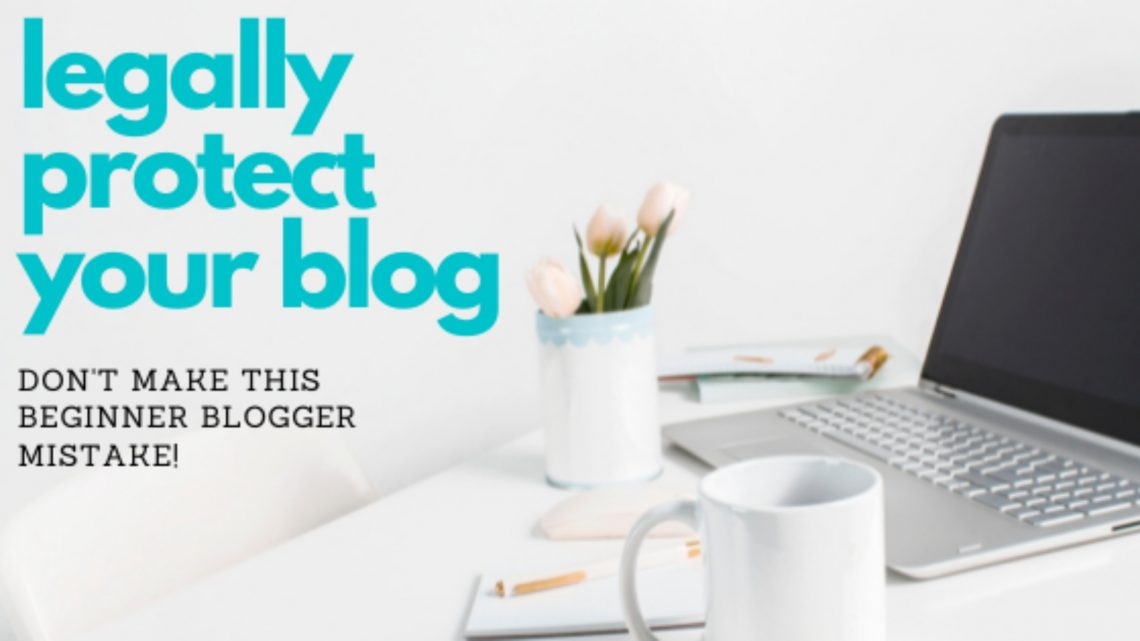 legal pages for your blog