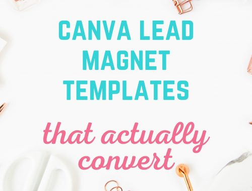 canva lead magnet templates that actually convert
